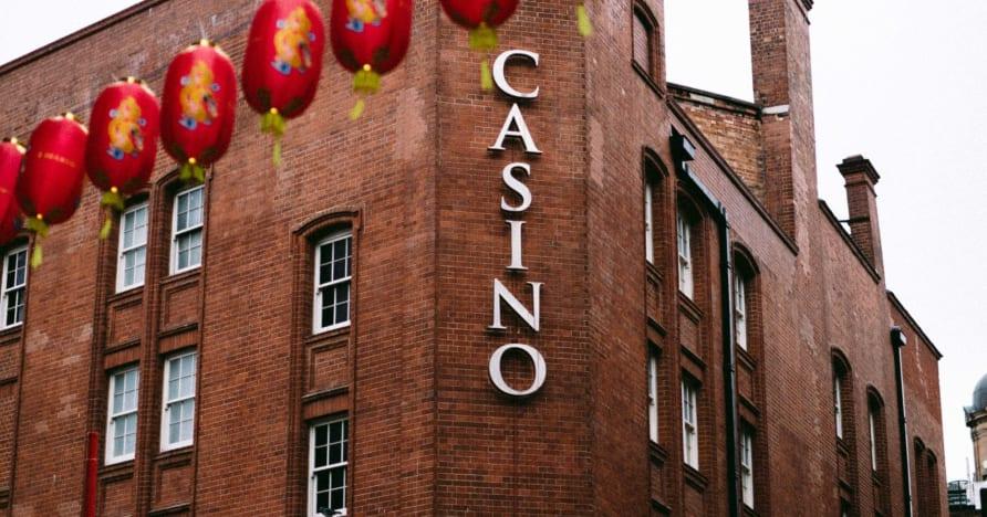 Darbo pradžia mobiliajame kazino