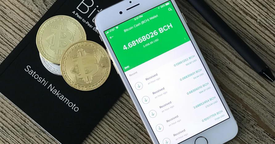 """Darbo pradžia """"Bitcoin Mobile"""" kazino"""