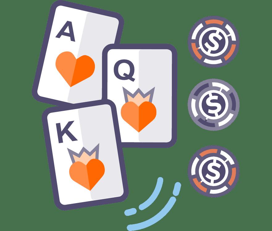 Žaisk Trijų kortų pokeris internetu – 36 pelningiausi Kazino Mobiliuosiuose Įrenginiuose 2021-iais