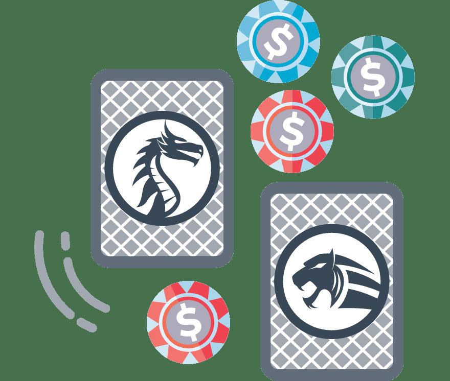 """Žaisk """"Dragon Tiger"""" pokeris internetu – 26 pelningiausi Kazino Mobiliuosiuose Įrenginiuose 2021-iais"""